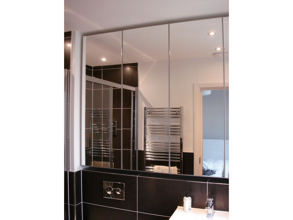 bathroom mirror and cabinet made to measure luxury bathroom mirror cabinets glossy home 16196